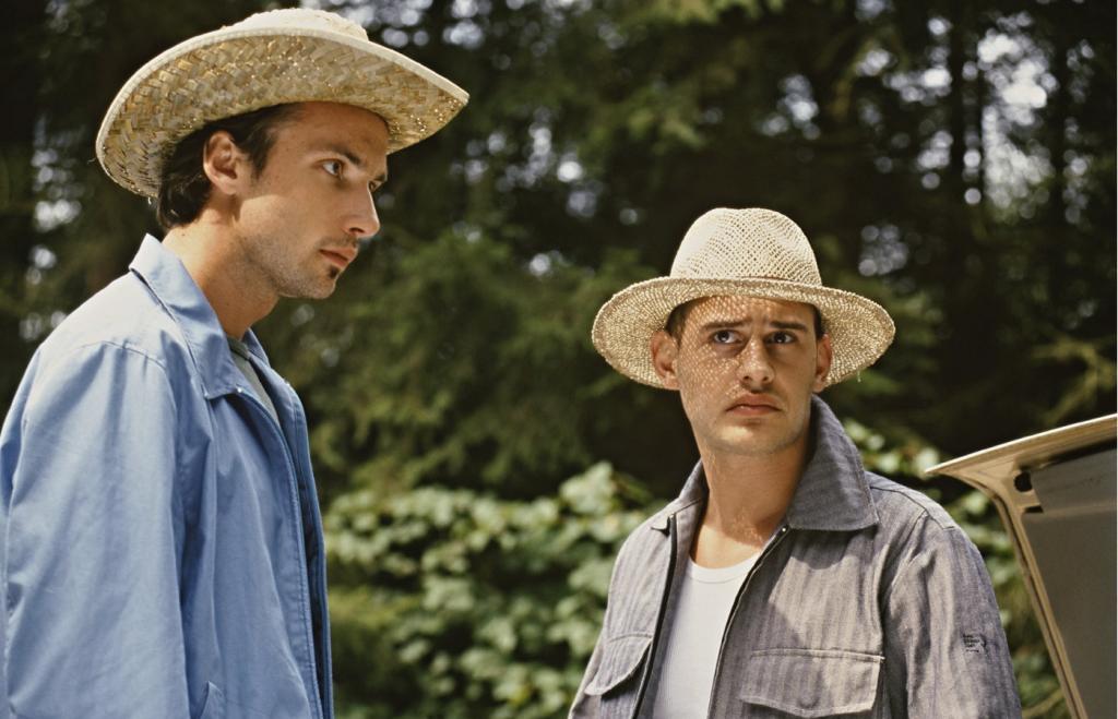 Moritz Bleibtreu und Lucas Gregorowicz in der Kifferkomödie »Lammbock« - © Universal Pictures
