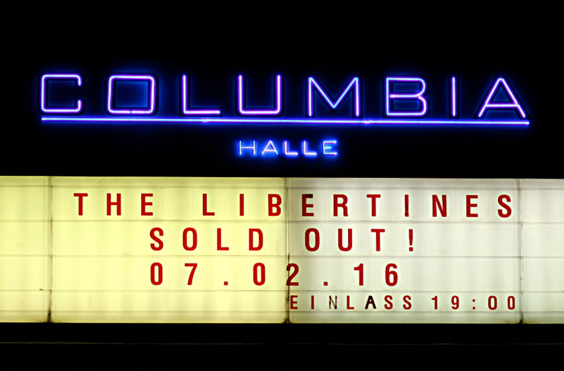 The Libertines, Reverend & The Makers, 030, Berlin Kulturschaffen, Steffen Rudnik, Columbia Halle, Musik, live, Indie, ausverkauft