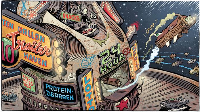 Weltraumkrümel, Craig Thompson, Reprodukt, 030 Magazin, Comics