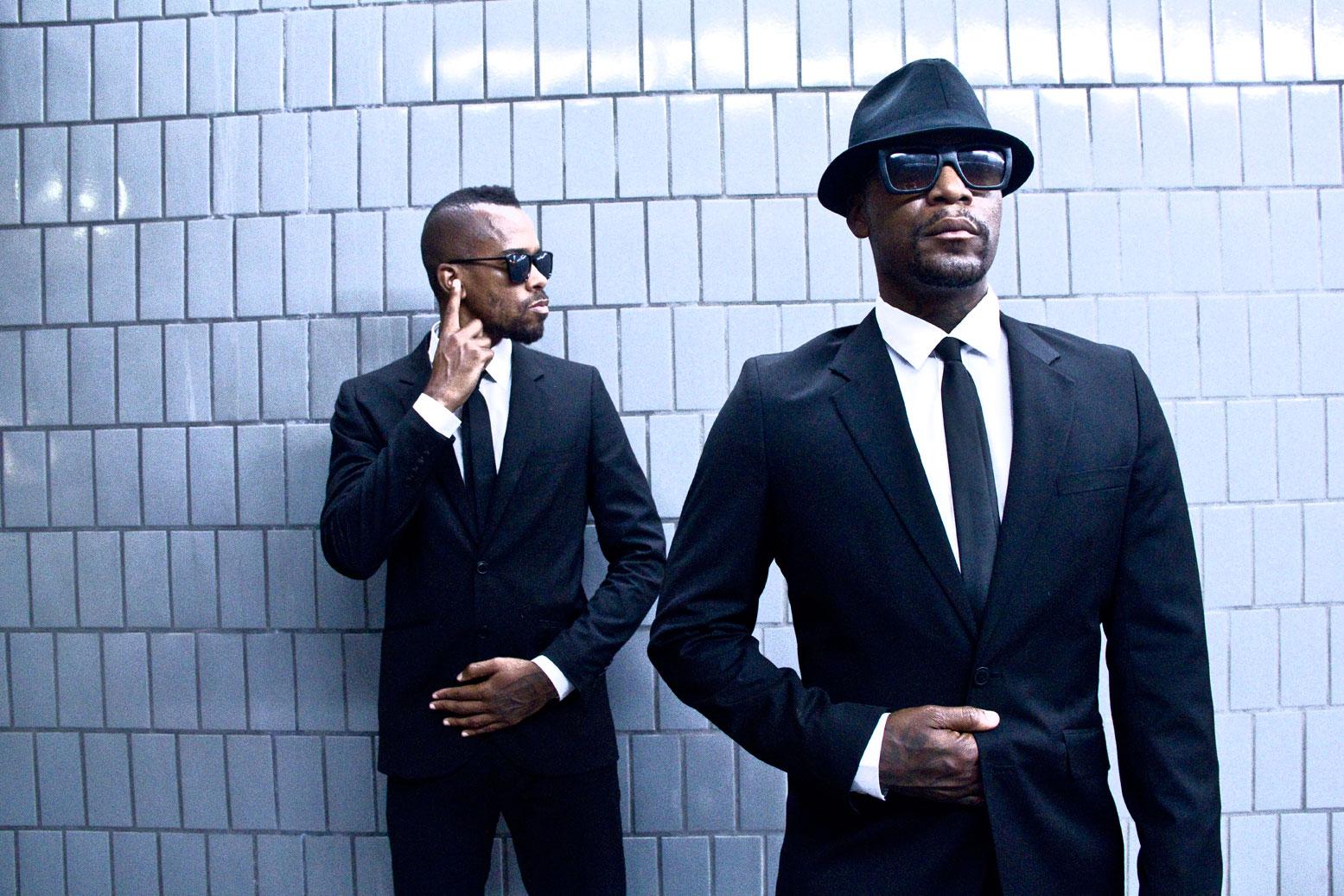 Dead Prez, ein Hip-Hop-Duo mit politischem Conscious-Rap aus den USA