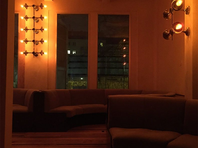 Loungeatmosphäre im Klub der Republik
