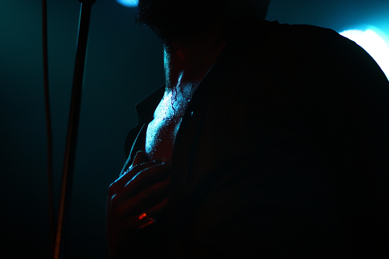 Hodja, Badehaus Szimpla Musiksalon, 14.4.16, Halos, Tour, Konzert, live, Berlin, 030, Steffen Rudnik, Schweiß