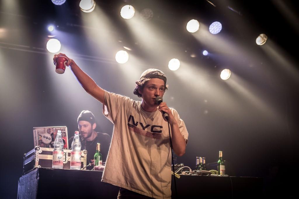Retrogott & Hulk Hodn, Sezession, Hip Hop, SO36, 030 Magazin, live