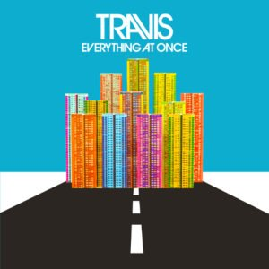TRAVIS, Cover, Everything At Once, Album, 2016, Caroline, Red Telephone Box, Berlin