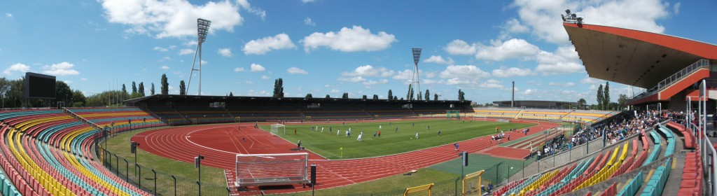 Jahnsportpark, Berlin-Pokal, Fussball