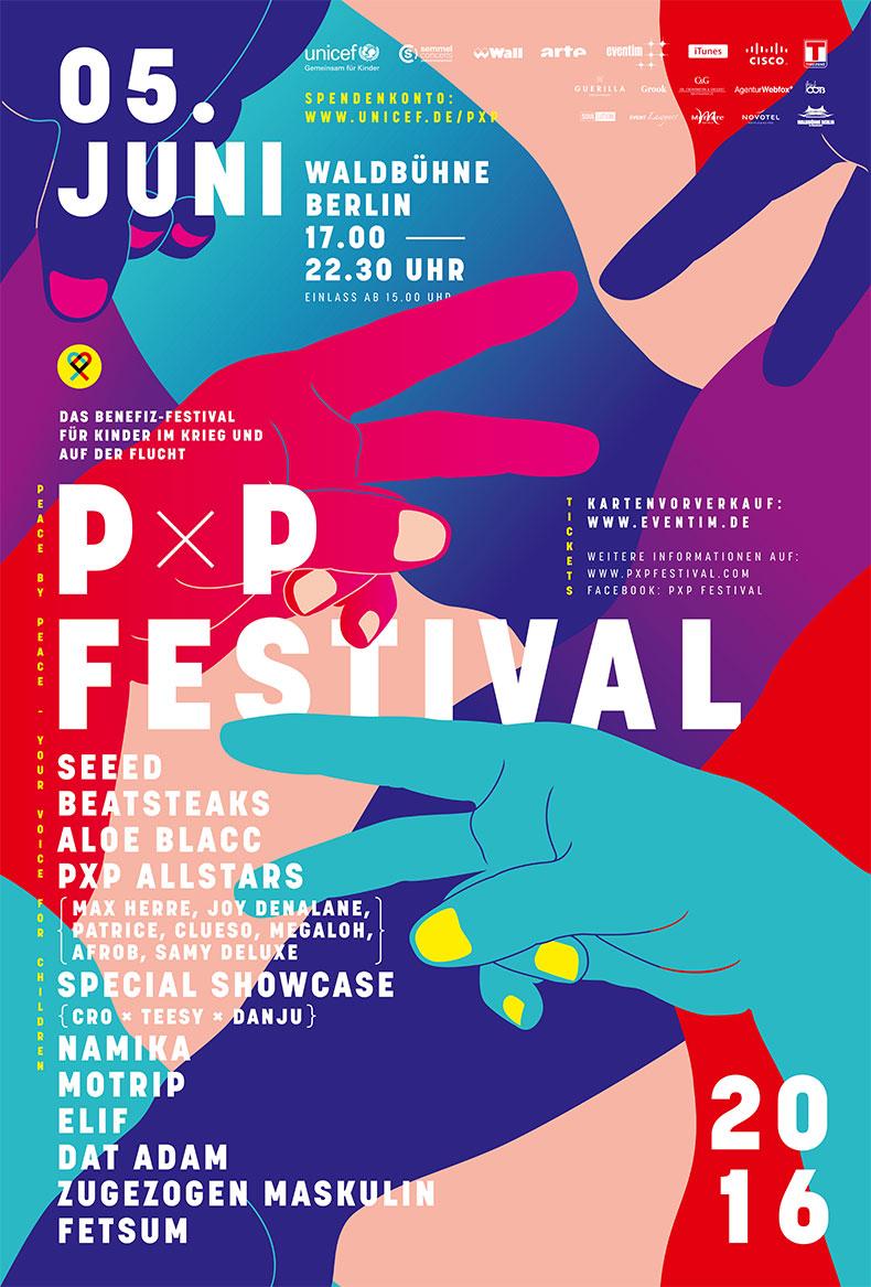 Plakat Peace x Peace Festival