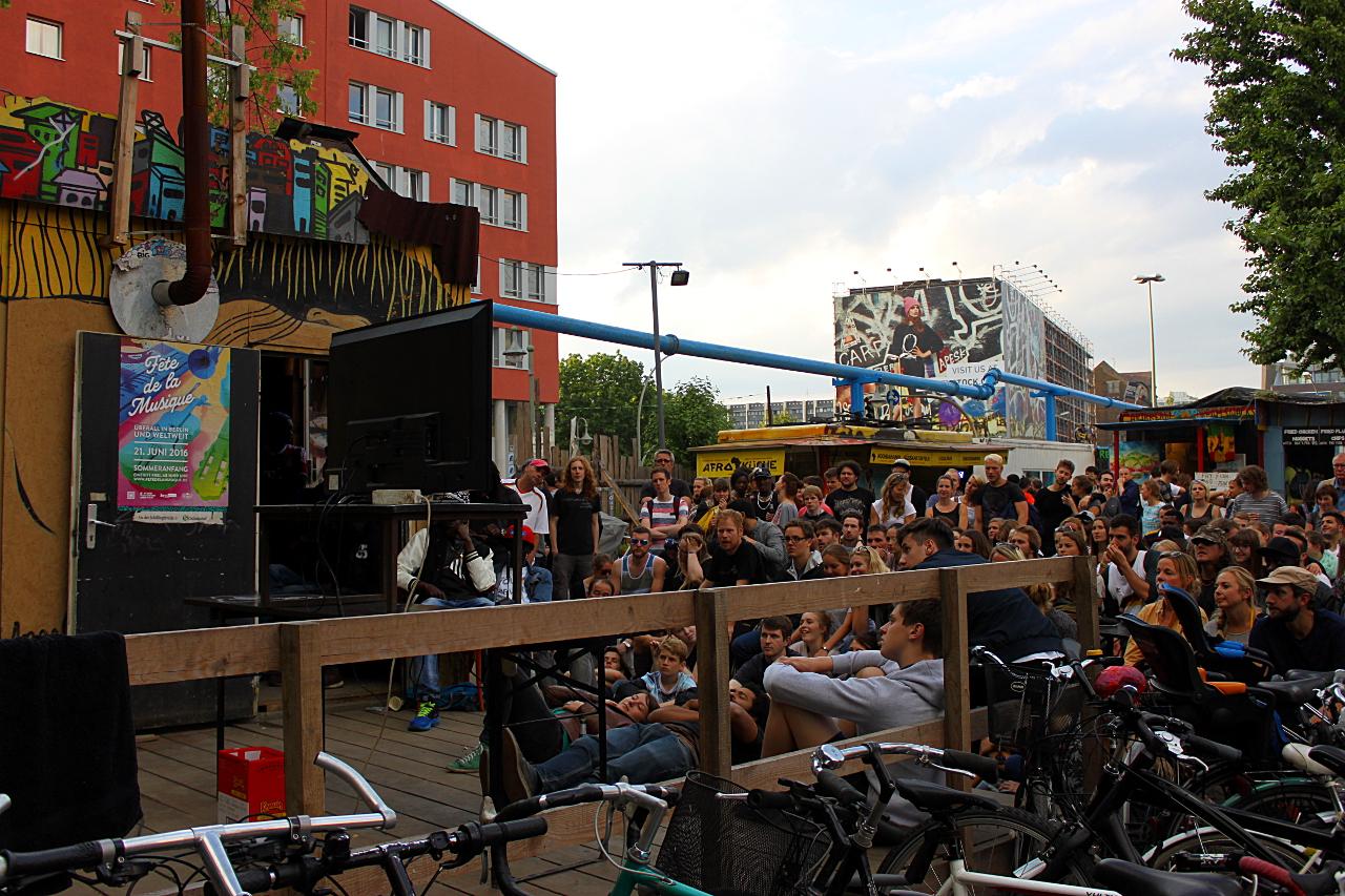 FÊTE DE LA MUSIQUE 2016, Musik, live, Berlin 030, Galerie, Steffen Rudnik, Sport, Fußball, EM