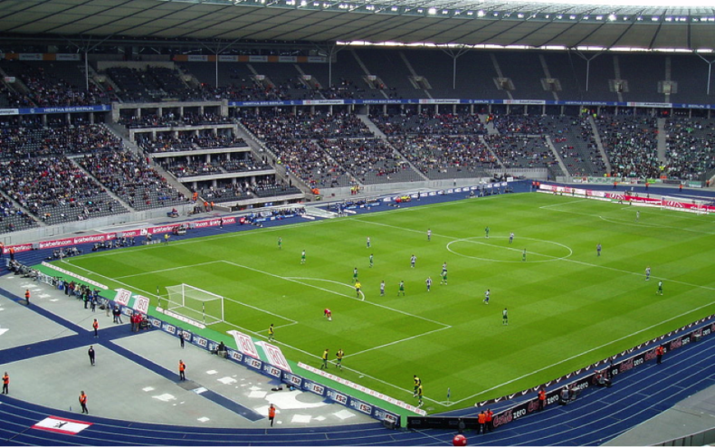 Hertha Stadion Neubau