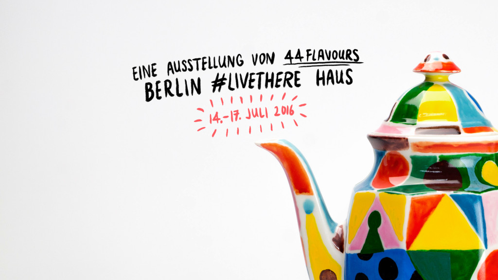 #LiveThere Haus, Airbnb, 44flavours, Berlin, Hallesches Haus