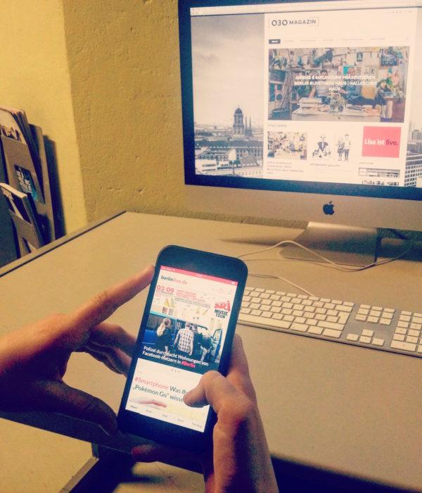 berlinlive.de, Berliner Morgenpost, app