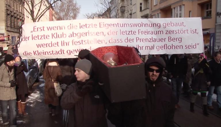Stadt als Beute, Gentrifizierung, Berlin