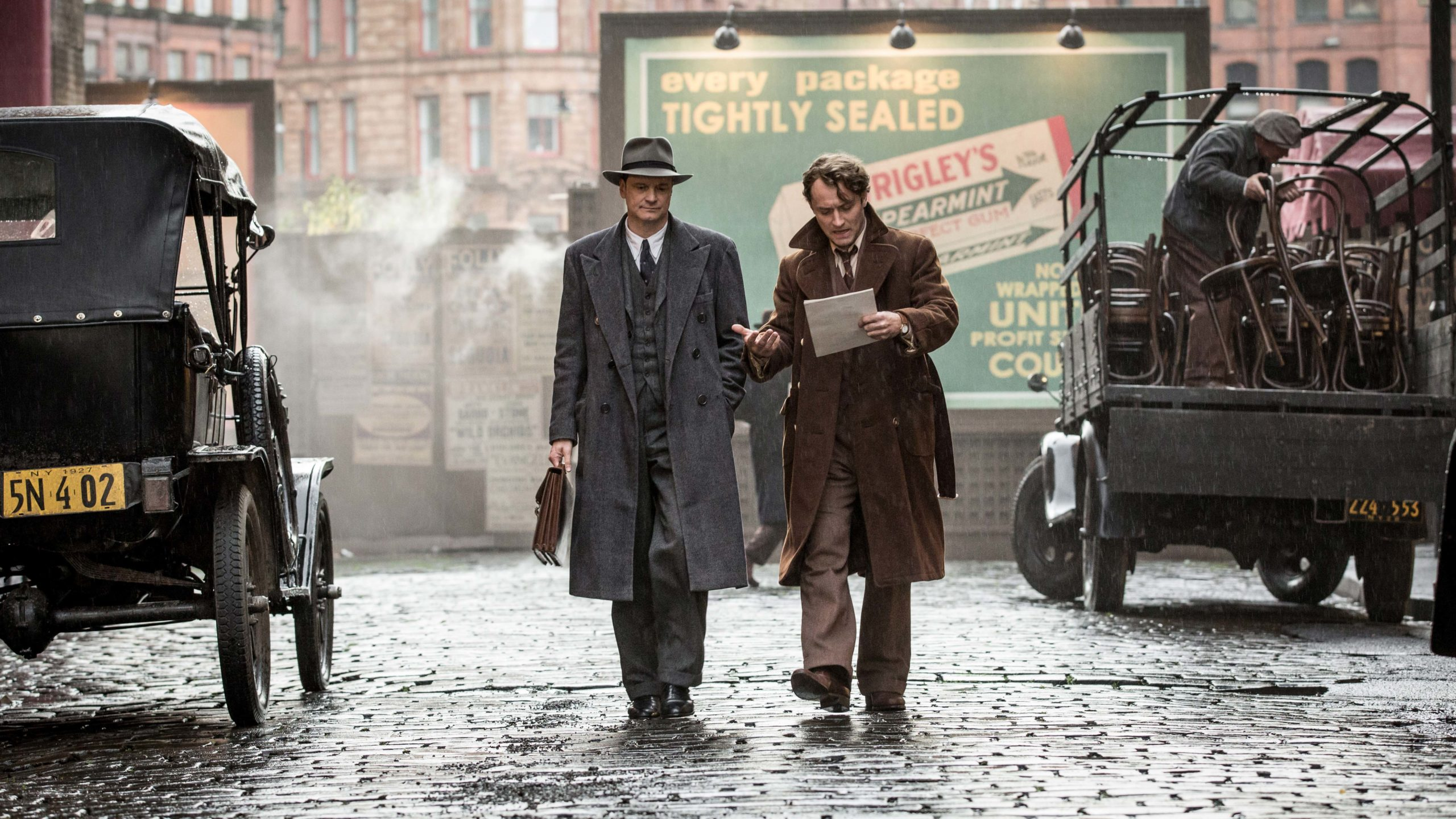 Colin Firth, Jude Law, Genius, Thomas Wolfe