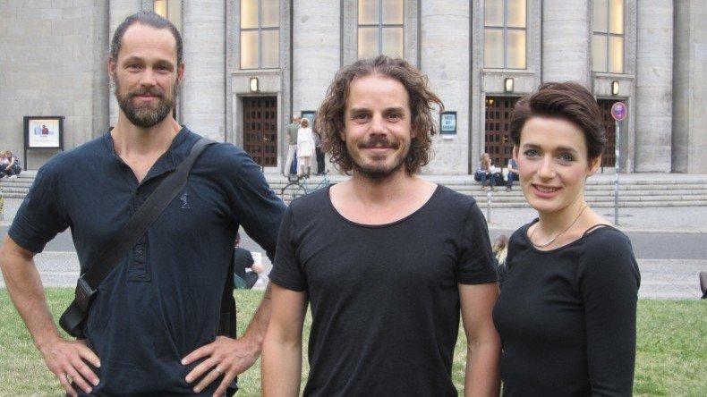 Jerry Kowalsky, Sven Sauer und Clara Cremer (v.l.)