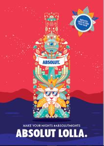 Lollapalooza 2016, Absolut Lolla, Vodka