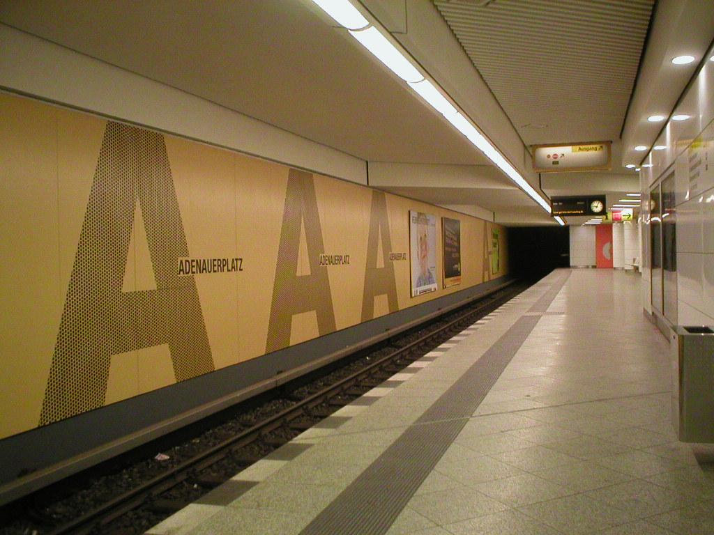 Adenauerplatz, u-bahn, wochenrückblick