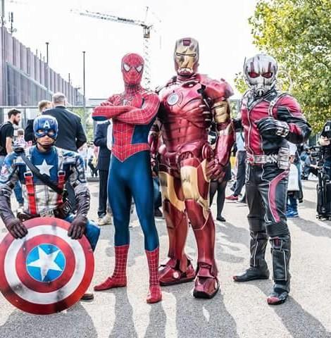 German Comic Con, Avengers, Avengers live