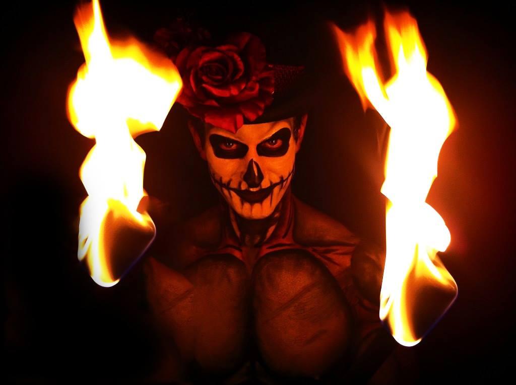 Voodoo, Halloween, Pyro