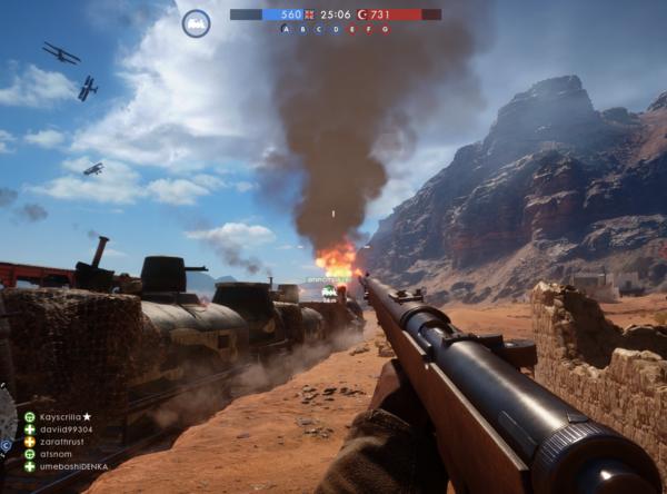 Battlefield 1, Multiplayer, EA, Dice, PS4, PC, Xbox