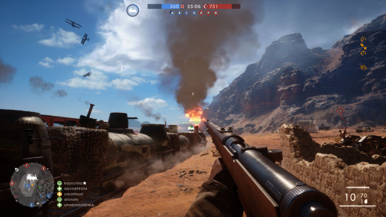Battlefield 1, Multiplayer, EA, Dice, PS4, PC, Xbox