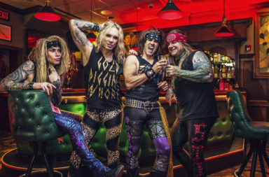 steel panther, glam rock, los angeles, berlin, balls out, lower the bar, michael starr