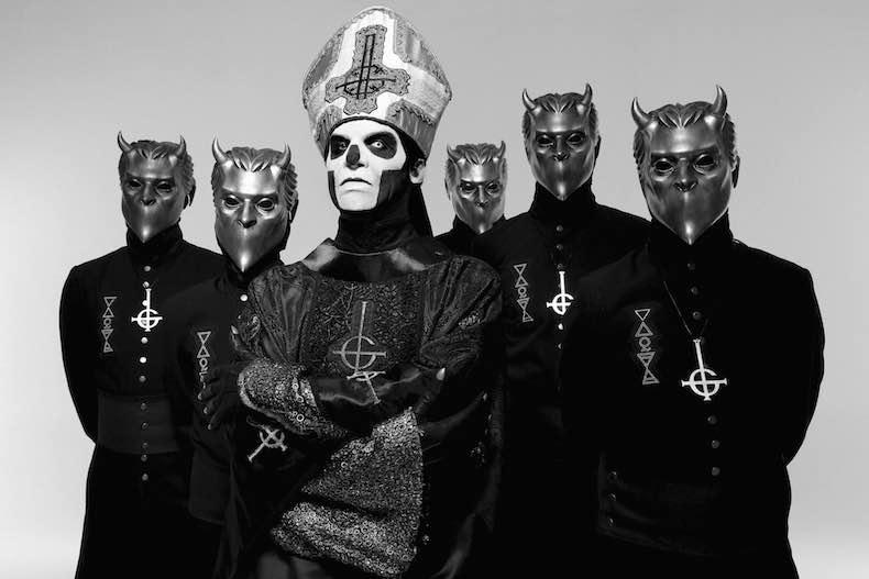 Ghost, Okkult-Rocker, Musik, Live, Berlin