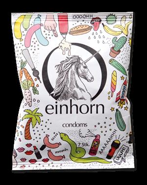 Vegane Kondome von Einhorn