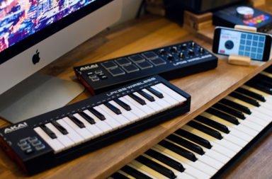 akai, akai lpk25, lpd8 Wireless MIDI Controller, Technik check
