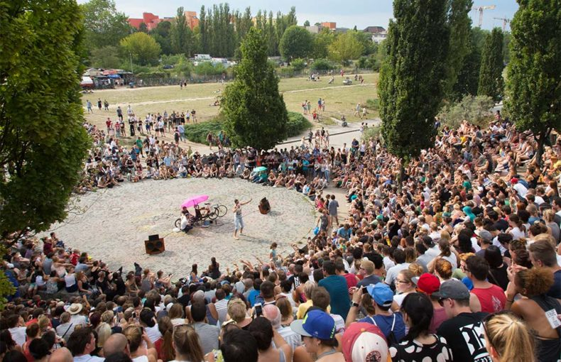 Mauerpark, Karaoke, Locations, Berlin