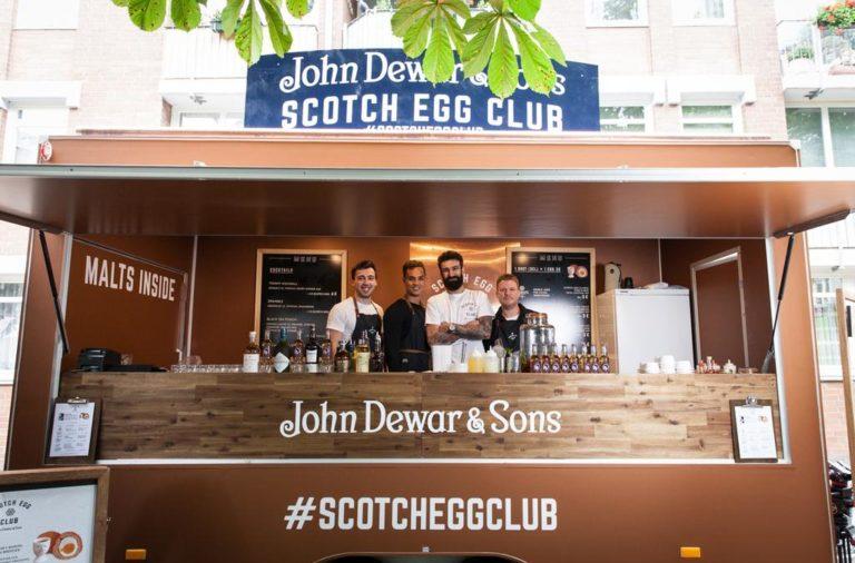 Dewar, Whiskey, Foodtruck, Berlin