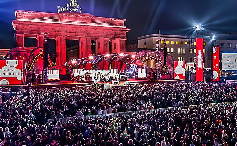 Coca-Cola, Festival der Einheit, Berlin, 2. Oktober