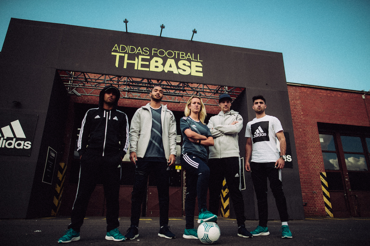 adidas, football, the base