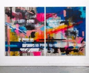 Kunst, Malerei, Urban