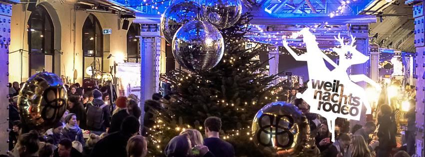 Weihnachtsrodeo, Kühlhaus, Weihnachtsmarkt, Design, Indoor, Berlin, Advent, 030