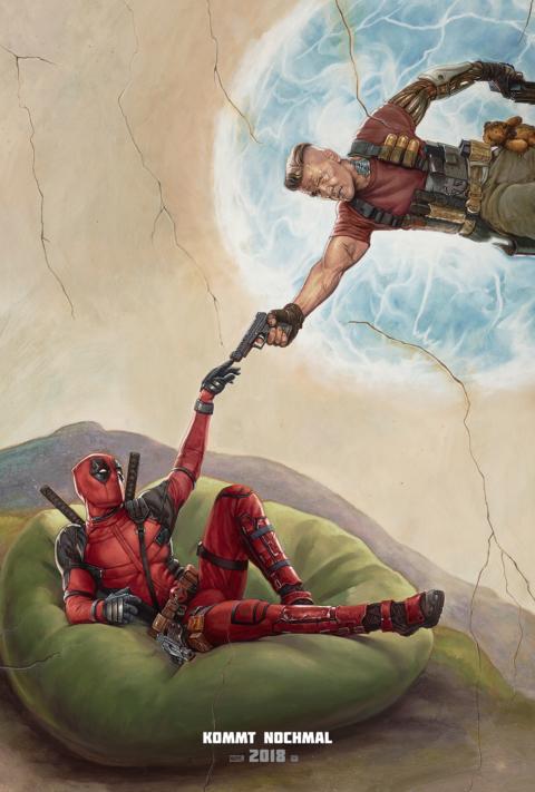 Deadpool, Marvel, Kino