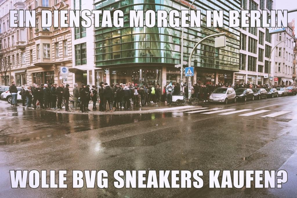 BVG, Sneaker, Adidas