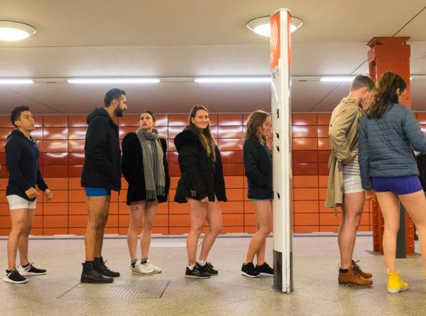 No Pants Subway Ride, Subway, 2018, Berlin, New York