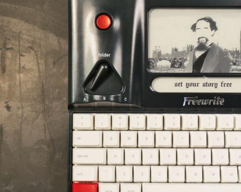 Freewrite, Astrohaus, Schreibmaschine, typingmachine, test, review