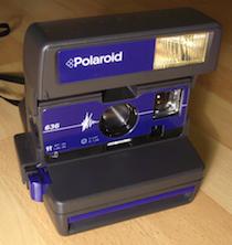 Polaroid, Kamera, Retro