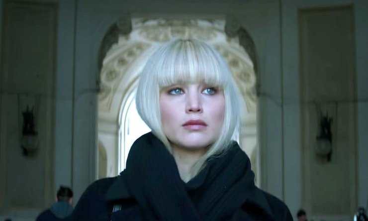 Red Sparrow, Sparrow, Jennifer Lawrence, Kino