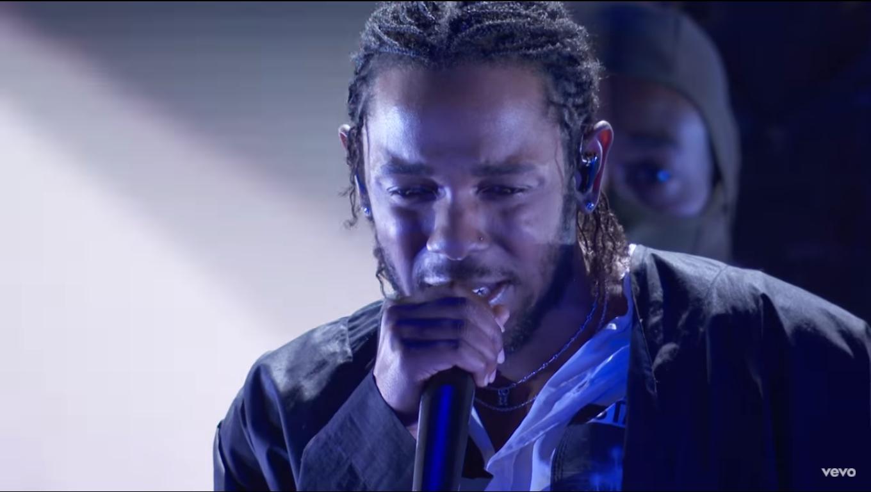 Kendrick Lamar, live