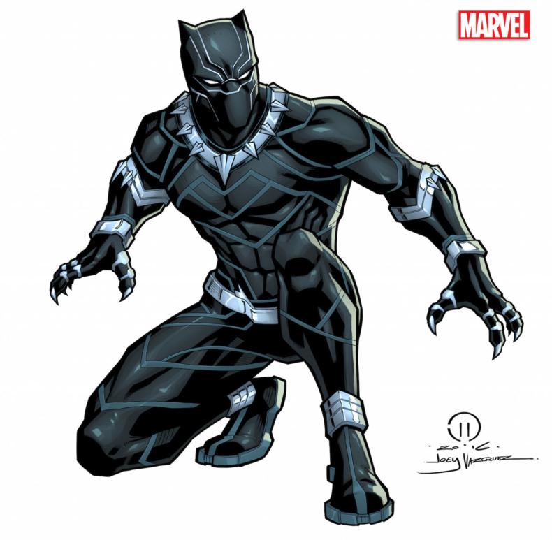 Black Panther, Black, Marvle, Wakanda, Avengers