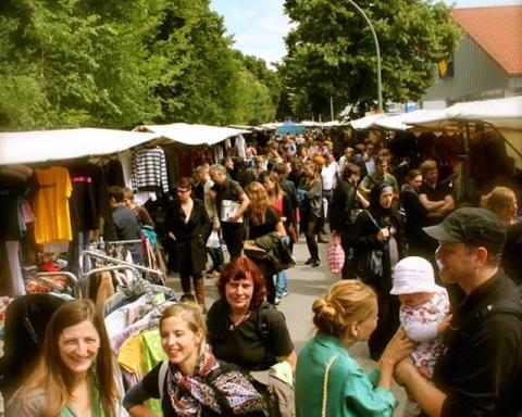 030 Magazin, Flohmarkt