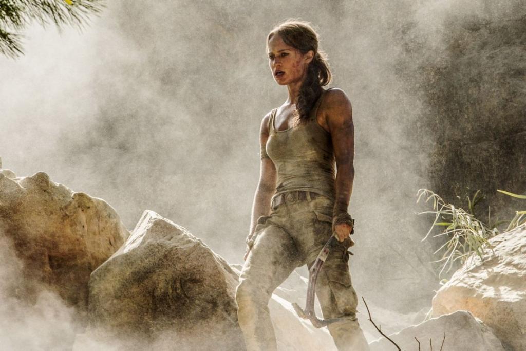 Tomb, Raider, Lara Croft, Kino