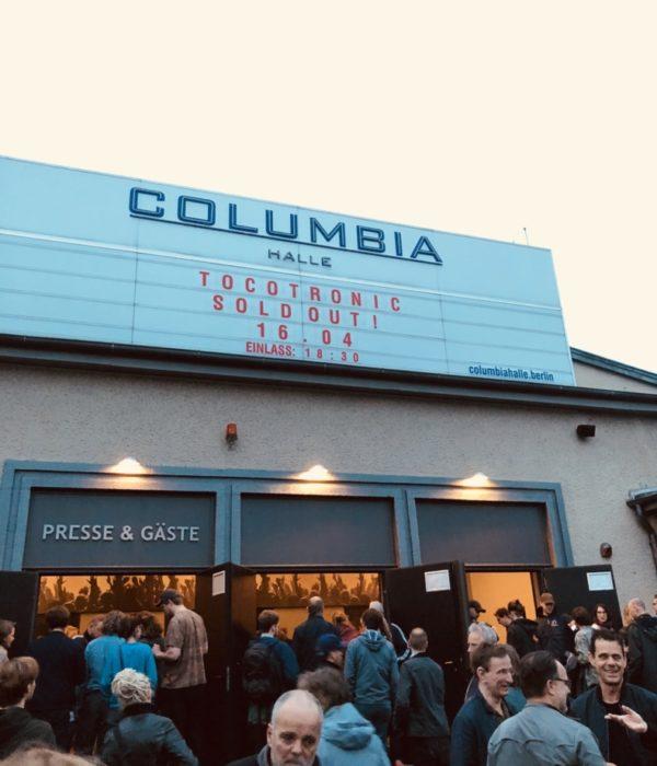 Tocotronic, Konzert, Berlin, Columbiahalle