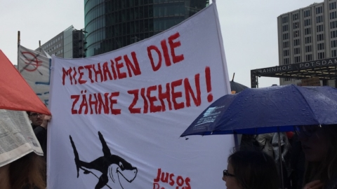 Mieten, Wochenrückblick, Demo, Potsdamer Platz