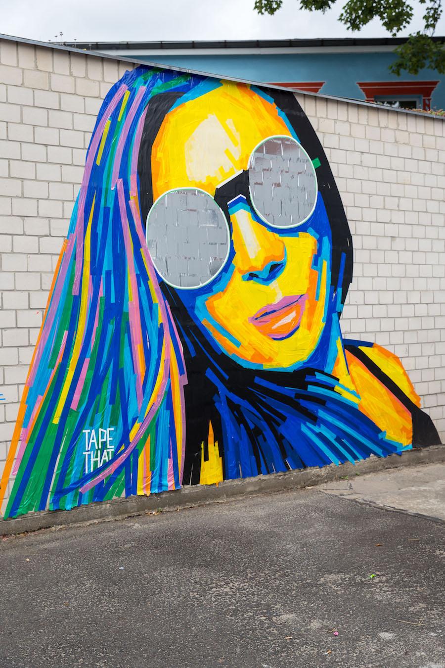 Tape Art, Convention, Berlin, Kunst, Kleben, Klebeband, 030, Berlin, Street Art, Urban, Art, Grafik