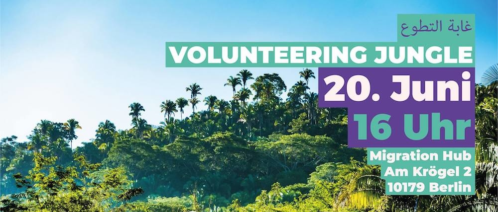 Volunteering, Jungle, Berlin, Ehrenamtlich, Hilfe, 030