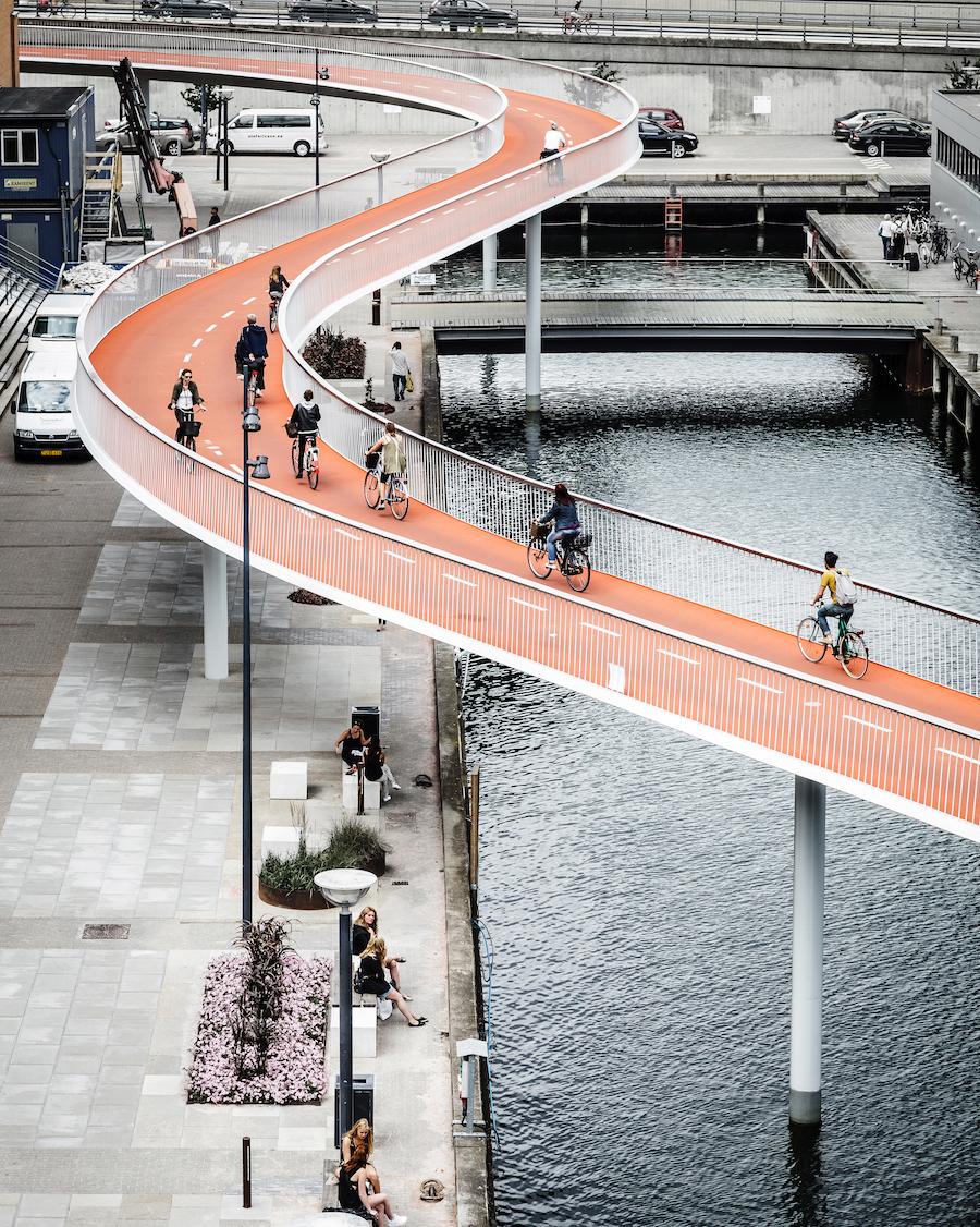 Skandinavien, Schweden, Finnland, Nordic Urban Spaces, Dänemark, Kopenhagen, Berlin, 030, Cykelslangen, Rasmus Hjortshøj