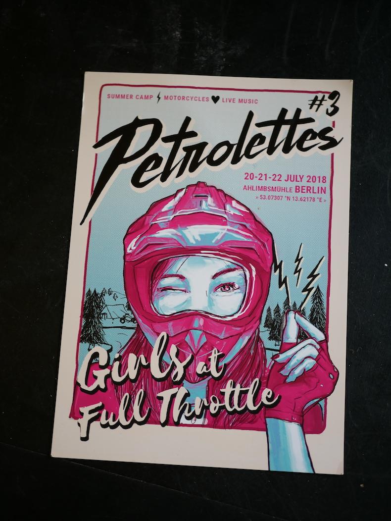 Petrolettes, Festival, Motorrad