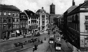Stadt, Berlin, Schwarzweiß, Alexanderplatz
